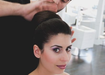 Brautshooting bei der Vorbereitung