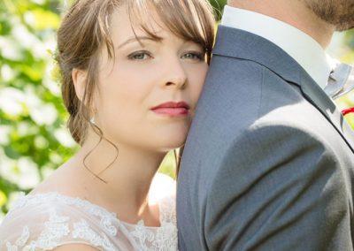 Hochzeitsfotografie: Portrait einer schönen Braut