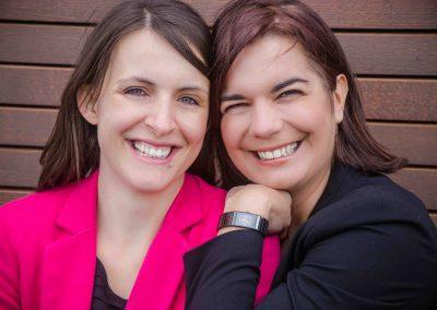 Businessfrauen: Mahlzeit Gründerinnen Ursula und Kerstin