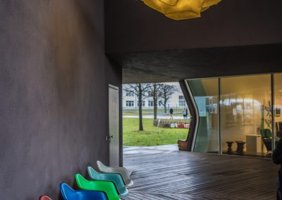 Architekturfotografie VitraHaus by Herzog & de Meuron, Vitra Campus